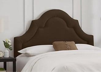 Skyline Furniture Arch Border Velvet Upholstered Headboard Apple Green Velvet, Size: Queen - 882QVAPLGRN