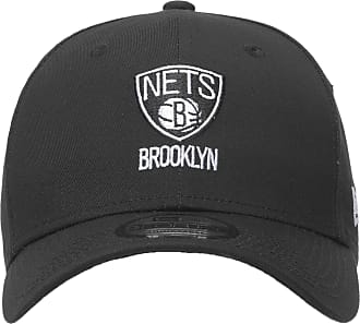 New Era BONÉ MASCULINO 940 BROOKLYN NETS - PRETO
