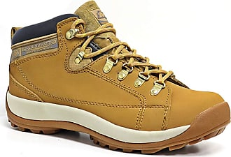 Groundwork Mens Leather Uppers Smart/Casual Lace up Steel Toe Cap Safety Boots (UK13, 387 Honey)