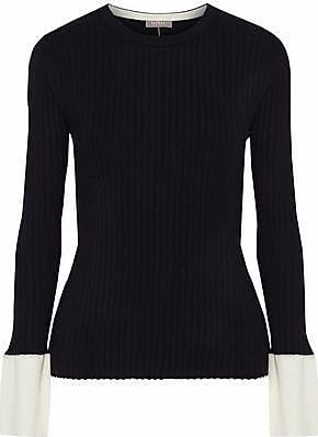 N.Peal N.peal Woman Ribbed Cashmere Sweater Black Size XL