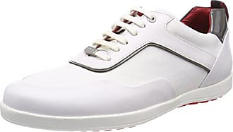 Blanc Flat Sneakers HUGO Lowp White BOSS 43 EU Homme ltny Basses AqnHUw