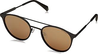 Polaroid Unisexs PLD 2052/S LM 807 Sunglasses, Black/Grey Goldmir Pz, 51