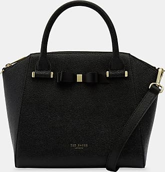 Ted Baker Bow Detail Zip Tote in Black JAELYNN, Womens Accessories
