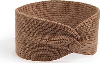 Peter Hahn Headband in 100% cashmere Peter Hahn Cashmere brown