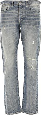 Ralph Lauren Jeans On Sale in Outlet, Denim Light Blue, Cotton, 2017, 34