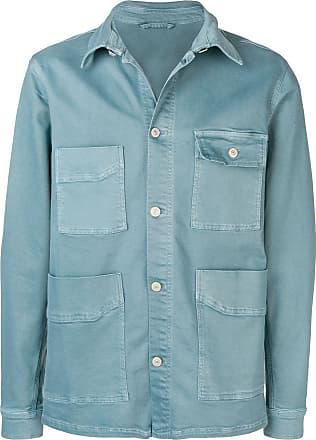 Paul Smith button shirt jacket - Blue