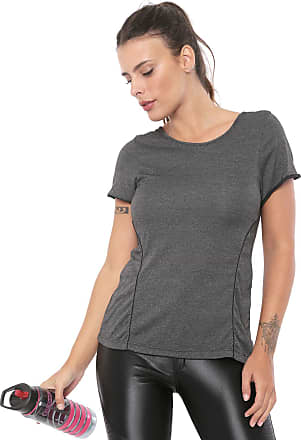 Alto Giro Camiseta Alto Giro Recortes Grafite