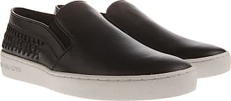 1fa30041732 Michael Kors Slip on Sneakers for Women On Sale in Outlet, Black, Leather,