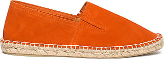 Éram en orange cuir velours Espadrille nUwUgAqfp