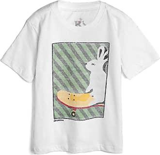 Reserva Mini Camiseta Reserva Mini Infantil Coelho Branca