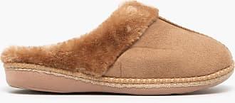 Zedzzz Kelly Ladies Mule Slippers Camel UK 6