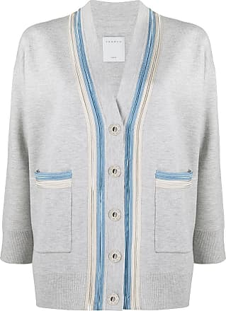 Sandro double trim cardigan - Grey