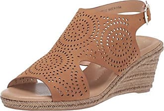 xoxo Womens SUMMERDALE Espadrille Wedge Sandal, Tan, 10 M US