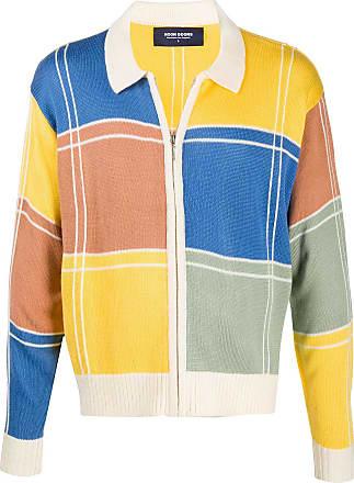Noon Goons Suéter color block de tricô - Amarelo