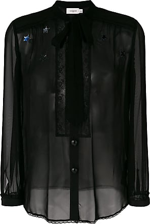Coach tie neck blouse - Black