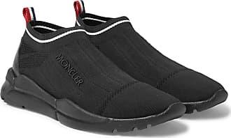 Moncler Stretch-knit Slip-on Sneakers - Black 0d18f11e59540