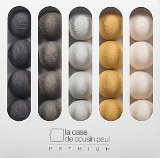 La Case de Cousin Paul THELONIOUS-Coffret Guirlande lumineuse Premium LED 3,2m brun jaune La Case de Cousin Paul