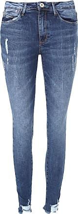 Malwee Calça Jeans Malwee Skinny Estonada Azul