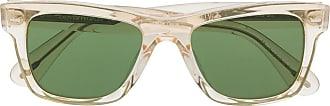 Oliver Peoples Óculos de sol quadrado com lentes coloridas - Verde