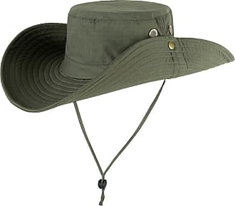 Yonglan Women Men Camouflage Bucket Hat Jungle Military Bush Hat Unisex Wide Brim Sun-Shading Fishing Hats ArmyGreen One Size