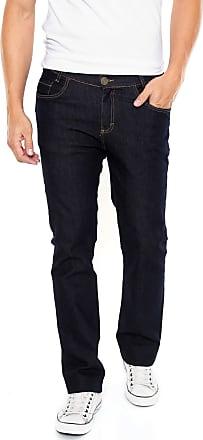 Malwee Calça Jeans Malwee Slim Pesponto Azul