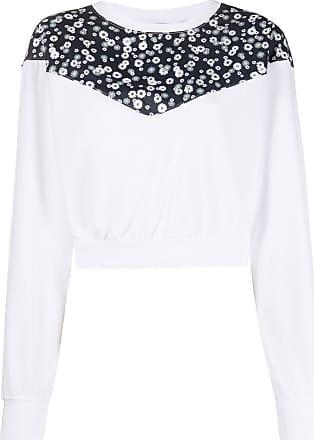 Nike Sweatshirt mit Rundhalsausschnitt - Weiß