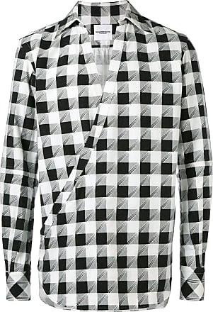 TAKAHIROMIYASHITA TheSoloist. Camisa com transpasse - Preto