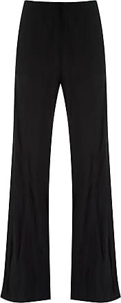Uma Calça pantalona - Preto