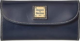 Dooney & Bourke Selleria Continental Clutch (Navy/Navy Trim) Clutch Handbags