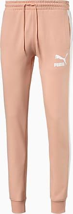 Puma Iconic T7 Mens Track Pants, Pink Sand, size 2X Large, Clothing