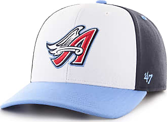 47 Brand 47 MLB Cooperstown Los Angels Angels Cold Zone MVP DP Cap - Acrylic Wool Blend Unisex Baseball Cap Premium Quality Design and Craftsmanship by Generat