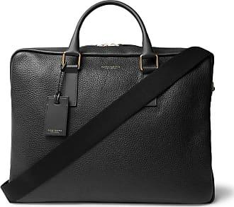 Globetrotter Propellor Pebble-grain Leather Briefcase - Black bf9e2f7276338