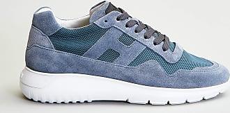 Reposi Calzature HOGAN Interactive³ - Sneakers in suede color jeans