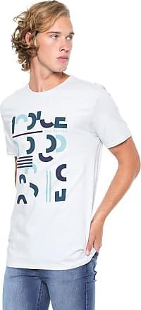 Iodice Camiseta Iódice Manga Curta Estampada Azul