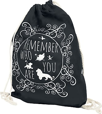 6d429196d99b3 Disney Remember Who You Are - Turnbeutel - schwarz - EMP Exklusiv