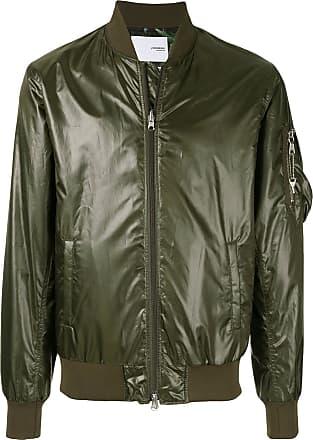 Yoshiokubo reversible weed bomber jacket - Green