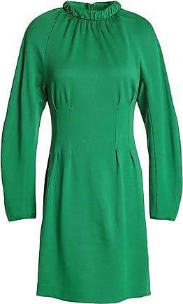 0d2b44f5caa Tibi Tibi Woman Cutout Piqué Mini Dress Green Size XS