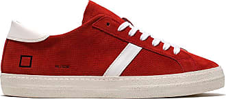 D.A.T.E. hill low suede perforated red
