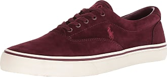 Ralph Lauren Mens Thorton Sneaker, Port, 10 UK