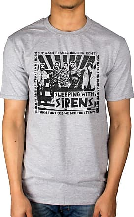 AWDIP Official Sleeping with Sirens Clipping T-Shirt Grey