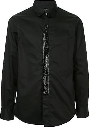 Loveless Camisa slim mangas longas - Preto