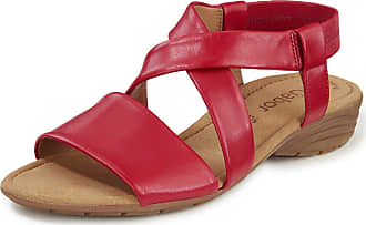 Gabor Sandals Best fitting finish Gabor red