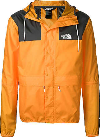 The North Face hooded water-resistant jacket - Orange