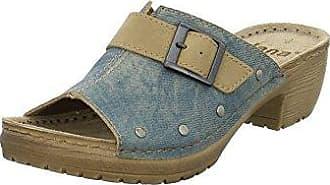 JANA Damen Pantolette LEICHT Weite H jeans 27201