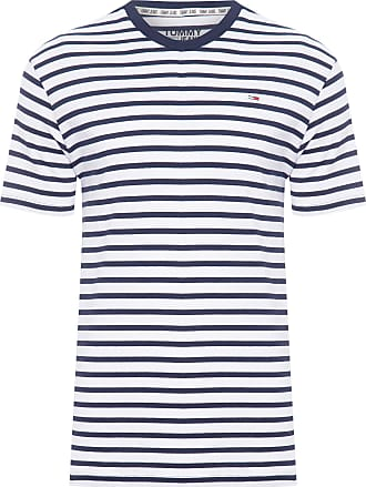 Tommy Jeans T-SHIRT MASCULINA TOMMY STRIPE TEE - AZUL
