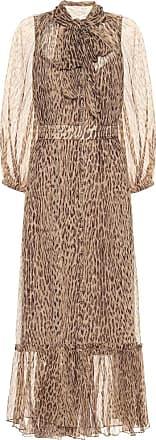 Zimmermann Espionage leopard-print dress