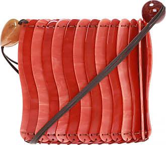 Ulla Johnson Yadira Shoulder Bag Womens Red