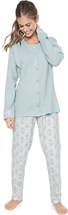 Pzama Pijama Pzama Estampado Verde