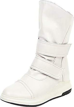 Damen Lederstiefel in Weiß von Aiyoumei®   Stylight