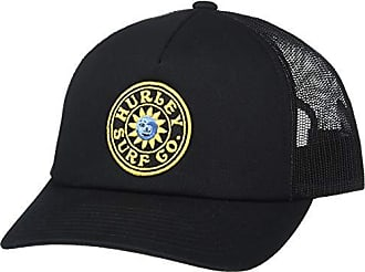 Hurley Womens Apparel Womens Del Sol Trucker Hat, Black, One Size Fits All
